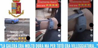 Si taglia il braccialetto elettronico e pubblica il video su TikTok, torna in carcere