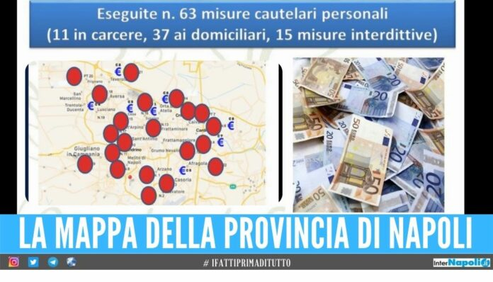 Soldi alle famiglie dei detenuti del clan dei Casalesi, riciclati 80 milioni di euro