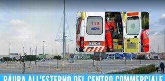 Tragedia nell'ex Auchan a Giugliano, uomo muore nel parcheggio