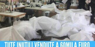 Truffa delle tute anti contagio alle Asl di Napoli, 2 fratelli volevano arricchirsi con il covid