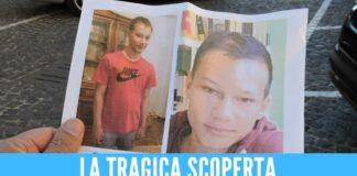 Valerio trovato morto sotto il ponte, il 18enne scomparve dopo la festa