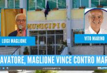 Maglione strappa la fascia a Marino