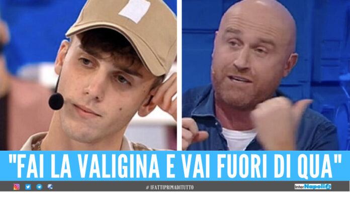 Luca D'Alessio e Rudy Zerbi ad Amici