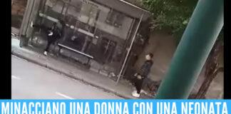 vandalizzano fermata del bus