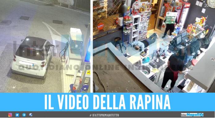 Screen video della rapina