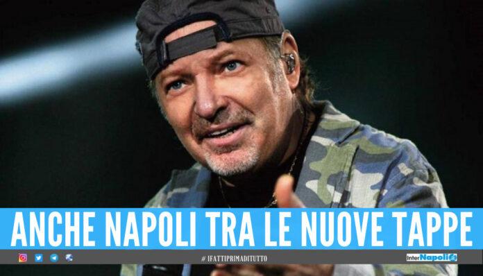 Vasco Rossi, l'annuncio bomba sul tour: concerto allo stadio Maradona di Napoli