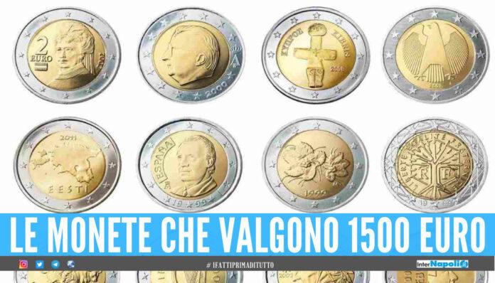 Monete rare e preziose, quali sono i 2 euro che ne possono valere mille