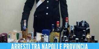 Contrabbando di vino e liquori, arresti e sequestro da 1,7 mln di euro tra Napoli e provincia