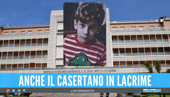 Tragedia al Monaldi di Napoli, il piccolo Andrea muore a 4 anni
