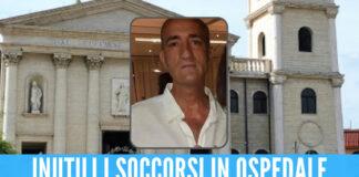 Carinaro in lacrime per Silvio, il 48enne morto dopo un incidente sul lavoro