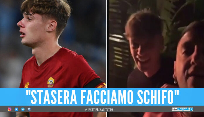 «Josè noi stasera pippiamo», bufera sul giocatore della Roma per il video a Mourinho