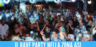 Rave party notturno a Marcianise, la scoperta dei poliziotti: «C'erano circa 80 persone»