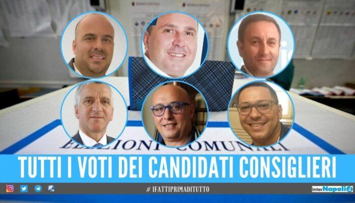elezioni afragola consiglieri più votati