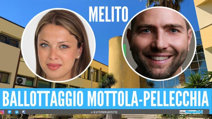 Elezioni a Melito, sarà ballottaggio tra Luciano Mottola e Dominique Pellecchia