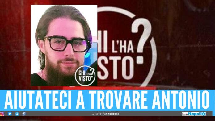 Antonio scomparso da Caivano