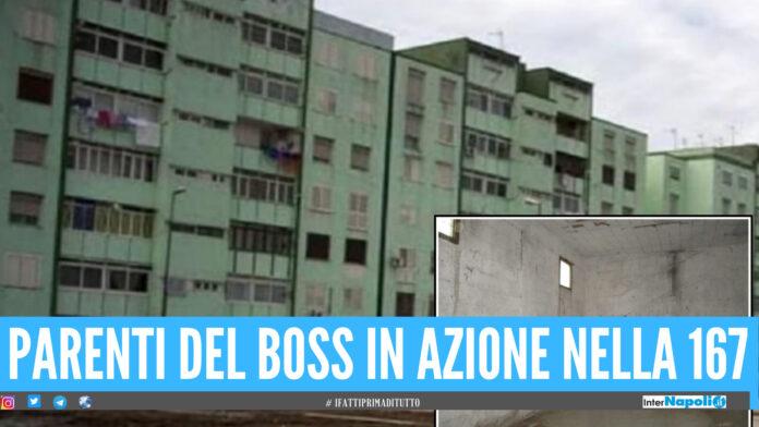 La camorra ad Arzano sfida nuovamente lo Stato, occupato alloggio nella 167