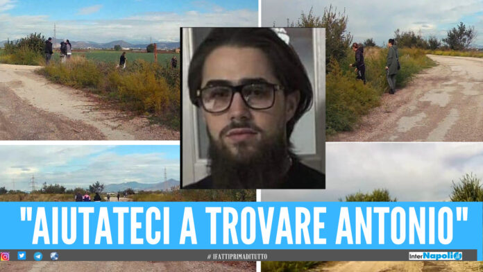 """Antonio scomparso da Caivano, ricerca nelle campagne. Don Patriciello: """"Aiutateci, la famiglia è distrutta"""""""