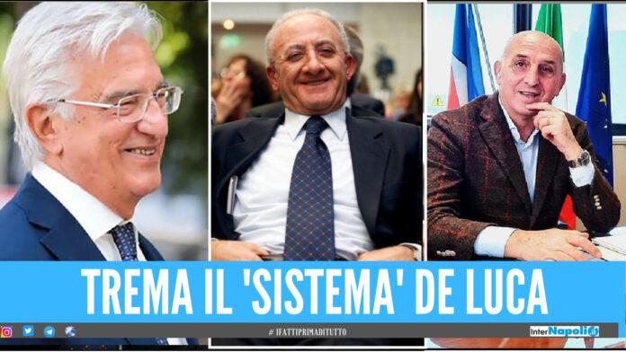 Mazzette per gli appalti, agli atti anche cena con De Luca: indagato sindaco di Salerno e arrestato consigliere regionale