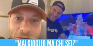Clementino contro Malgioglio: «Sei come l'ananas sulla pizza»