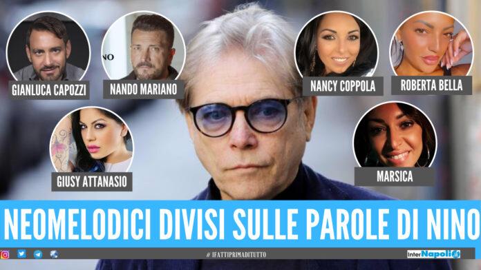 Neomelodici, polemica sulle parole di Nino D'Angelo