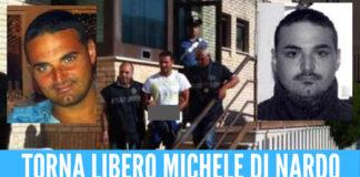 Torna libero Michele Di Nardo