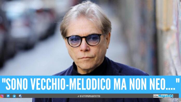 Caso neomelodici, Nino D'Angelo risponde: