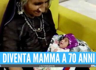 Una donna diventa mamma per la prima volta a 70 anni, il 'miracolo' grazie alla medicina