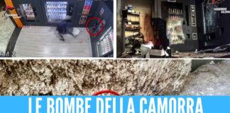 Le bombe della camorra da Napoli al Salernitano: 10 arresti