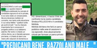 Luciano Mottola lancia dure accuse a Dominique Pellecchia