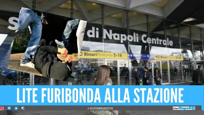 Prima la rapina poi la rissa: 3 persone fermata alla Stazione centrale di Napoli