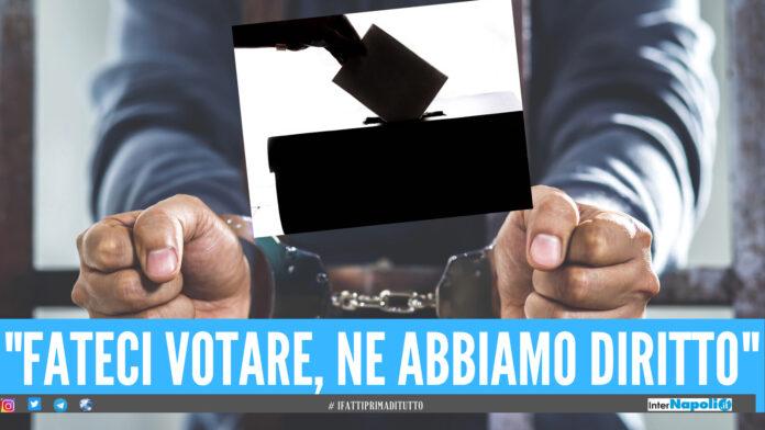 Elezioni a Napoli, solo 2 detenuti dei penitenziari della Campania chiedono di votare