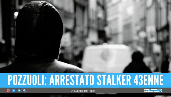 arrestato stalker a pozzuoli
